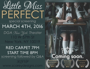 Little Miss Perfect Invite